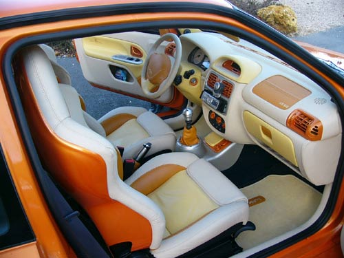Renault at ange ou demon badcoy for Interieur tuning auto
